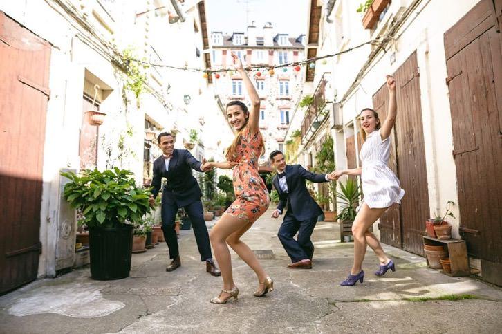photo évènementiel cours danse swing